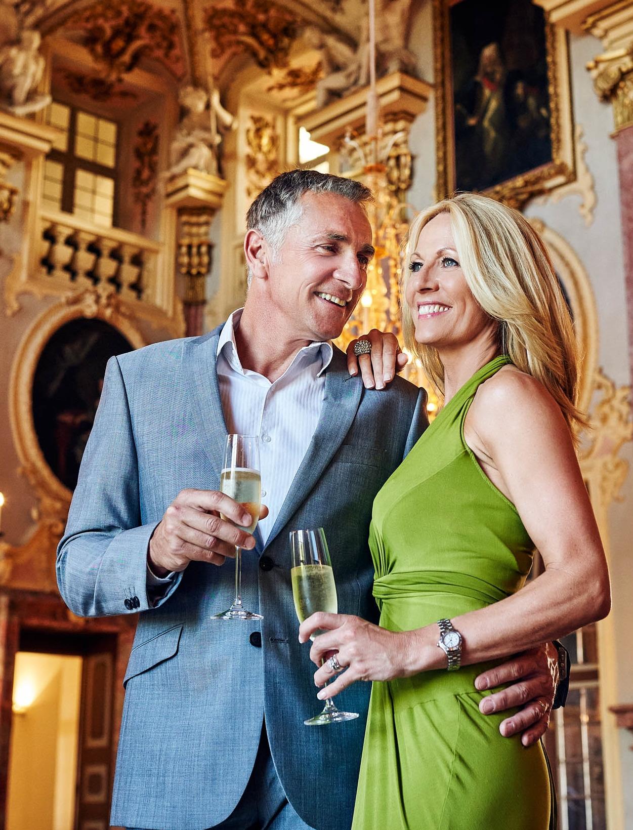 Fiona P and Simon S